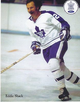 "8""X10"" original photo Eddie Shack Toronto Maple Leafs NHL"