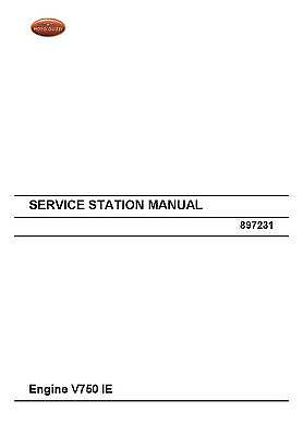 Moto Guzzi engine service manual 2012 Engine V750 IE