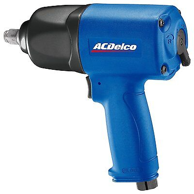 ACDelco ANI404 1/2-inch Composite Impact Wrench, 650 ft-lbs, TWIN HAMMER