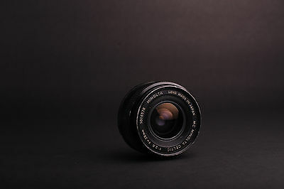 Minolta MC Celtic  28mm f/ 2.8 lens User condition, ugly. Wide angle