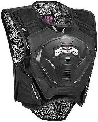Speed Strength Killer Queen Womens Armored Vest Black LG/XL Large - X-Large