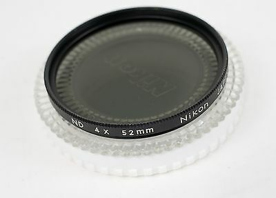 NIKON 52mm ND Neutral Density 4x Filter Made in Japan