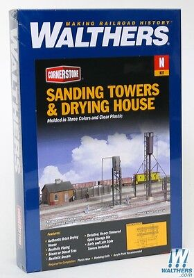 3813 Walthers Cornerstone Sanding Tower & Drying House Kit  N Scale