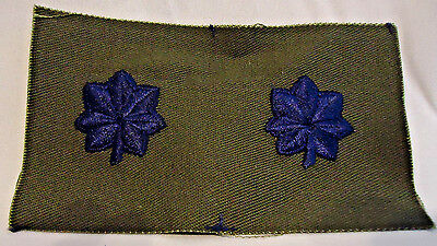 """U.s. Air Force Lt. Colonel Insignia Embroidered Cloth Patch 4 1/8"""" By 2 1/2"""""""