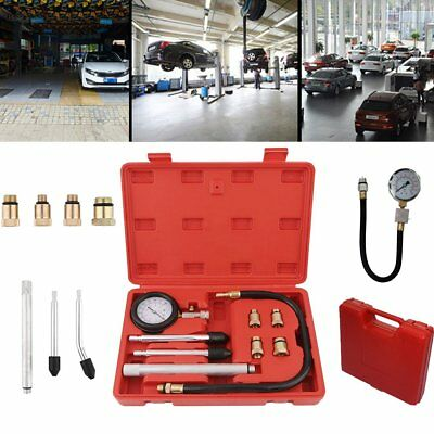 Car motorbike trucks lawn mowers Petrol Engine Cylinder Compression Tester Set