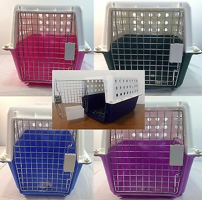 Carrier Portable Travel Carry Cage Cat Dog Puppy Pet Crate House Medium New