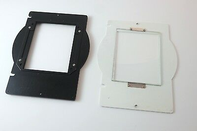 Simmons OMEGA 4x5  Glass Negative Carrier for D Series Enlarger.
