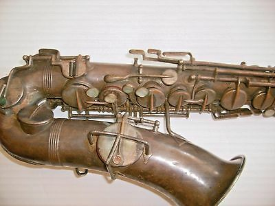 1920s WURLITZER AMERICAN  SAXOPHONE LOW PITCH