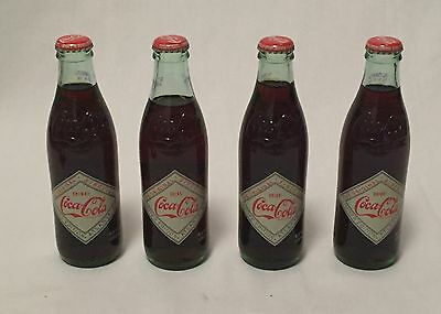 Vintage & Rare - Coca-Cola Collectible - 8.5 oz Coke Bottles Full - 2007 Limited