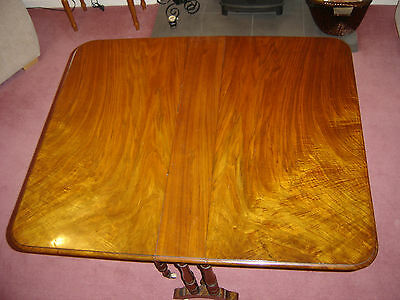 Victorian Table Beautiful Walnut, Gate Leg, Drop Leaf, Sutherland, Antique