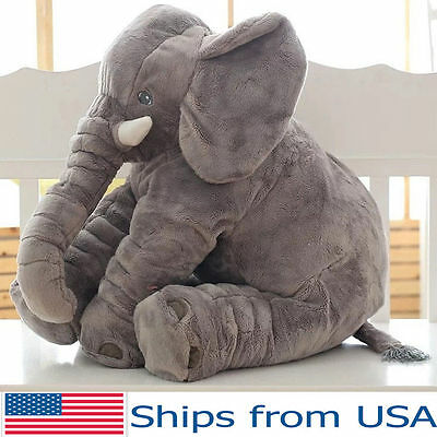 Elephant Baby Stuffed Doll Plush Small Toy Children Kids Soft Long Nose Cute