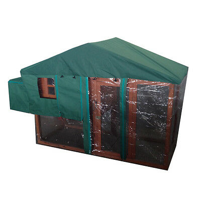 Weather Resistant Cover For Chicken Coop And Run Water Protect Shelter Apex Roof