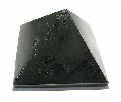 99 Grams Black Tourmaline Feng Shui Pyramid Crystal Bagua Gift Reiki Power Fear
