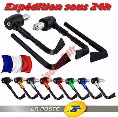 Protection de Leviers Frein Embrayage en ALU - MOTO SCOOTER QUAD - Embout guidon