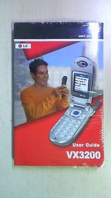Verizon LG User Guide Manual for VX3200 R8T3