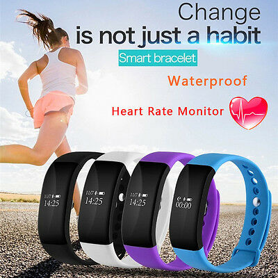 Waterproof Bluetooth Smart Watch Phone Mate Fitness Tracker For iPhone Android