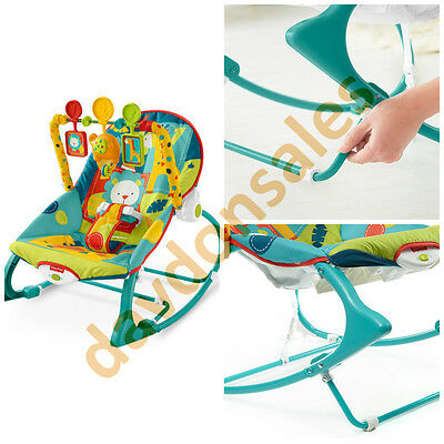 Baby Seat Bouncer Rocker Fisher Price Infant Toddler Chair Sleeper Portable Toy