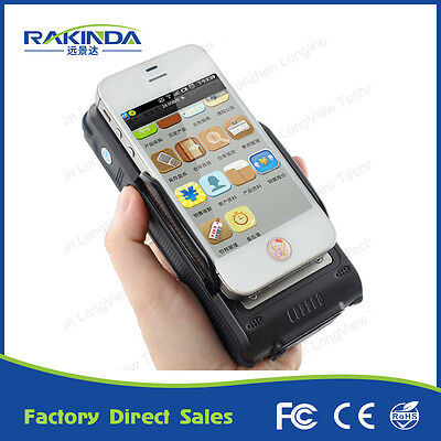 Android Bluetooth Handheld 1D 2D Barcode or RFID Reader for Phone and Tablet