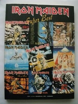 Iron Maiden Super Best Japan Band Score Guitar Tab