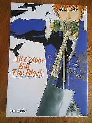 * ArtBook MANGA BLEACH * Illustrations All Colour But The Black POSTER TITE KUBO
