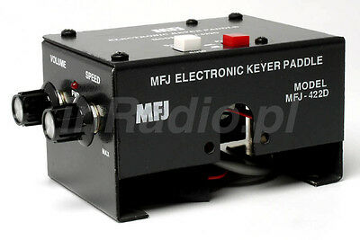 MFJ-422DX KEYER FOR BENCHER PADDLE MOUNT + fast GLS delivery MFJ422 MFJ422DX