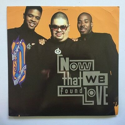 "Heavy D & The Boyz - Now That We Found Love - 1991 England - MCA - 12"" Single"