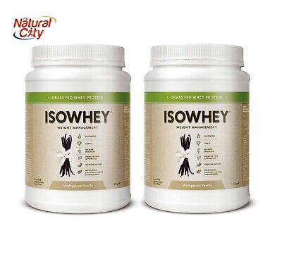 Isowhey Whey Protein 1.34kg (672g x 2) + Free Stylish Shaker Choose your flavour