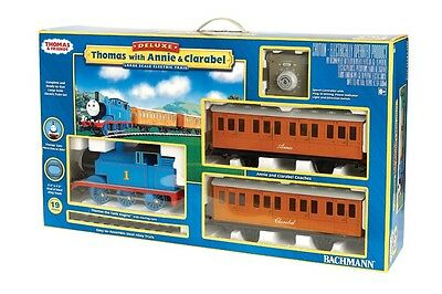 Bachmann 90068 Thomas With Annie and Clarabel Deluxe Electric Train G Scale