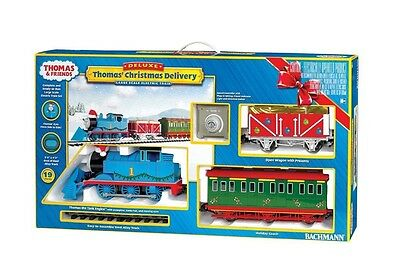 Bachmann 90087 Thomas' Christmas Delivery Deluxe Electric Train G Scale