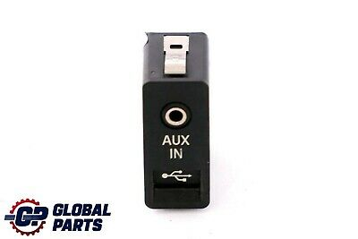 BMW 1 3 5 Series E60 E61 E81 E87 E90 E91 USB AUX In Socket Port Plug 9129651
