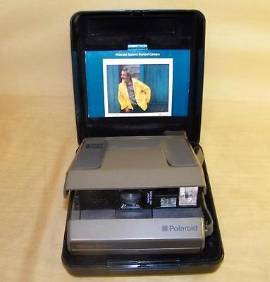 Polaroid Spectra System Instant Film Camera made in USA w/hard case & manual