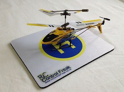 Mini RC Helicopter Foldable Helipad Landing Pad 19cm x 23cm Ideal For Syma S107G