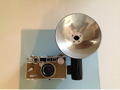 Vintage Argus 35Mm Camera With Leather Case and flash