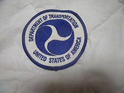 Department of Transportation  United States of America patch