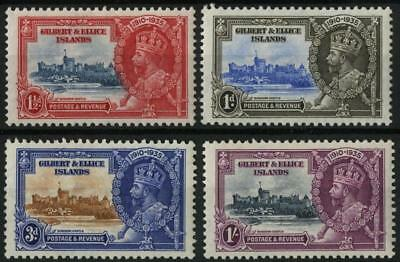 Gilbert & Ellice SG 36-9 1935 Silver Jubilee set of 4
