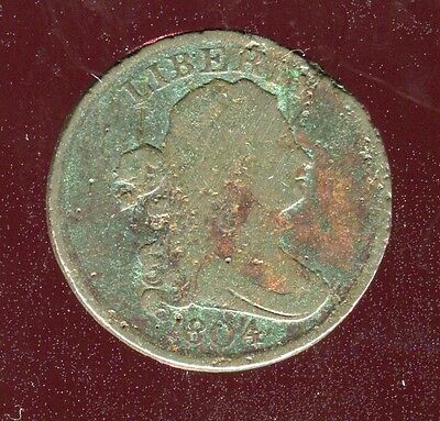 1804 Draped Bust Half 1/2 Cent