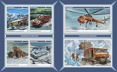Z08 IMPERFORATED MOZ17129ab MOZAMBIQUE 2017 Special transport MNH ** Postfrisch