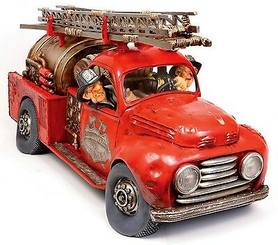 "GUILLERMO FORCHINO - Comic Art Skulptur - ""FIRE ENGINE""  numm. Edition - FO85040"