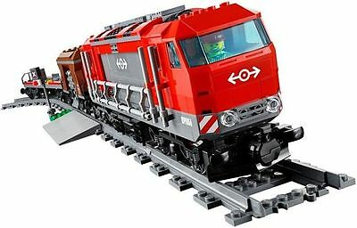 LEGO Train Red Diesel Engine Cargo Locomotive With Motor From City Set 60098 NEW