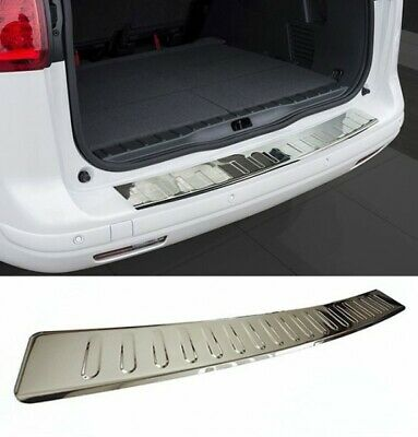 Dacia Duster Protection Seuil Coffre Pare-Chocs Arrière Inox Chrome V2A 2010-