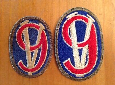 Ww2 Us Army 95Th Infantry Division Patch Variations