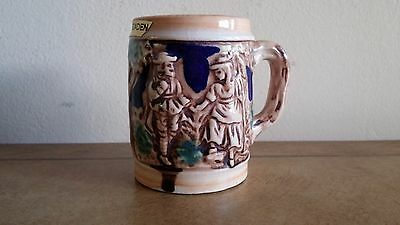 Antique Arnart Miniature Beer Stein, Tankard, Mug Or Toothpick Holder