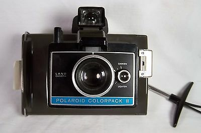 Vintage POLAROID COLORPACK II Land Camera w/ Case & Strap for Instant Film