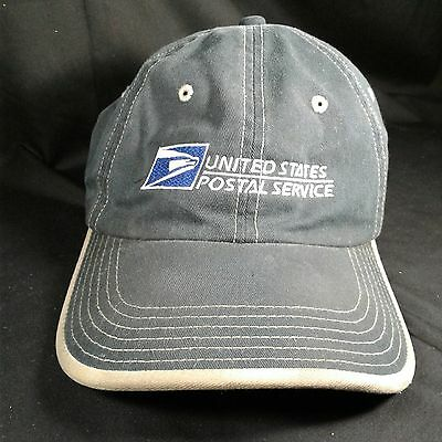 United States Postal Service trucker hat felt back distressed from use genuine