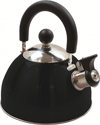 Highlander 2L Deluxe Stainless Whistling Kettle