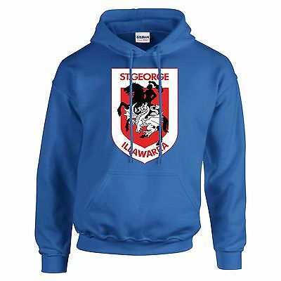 St Georges Day Hoodie  George And The Dragon Saint George