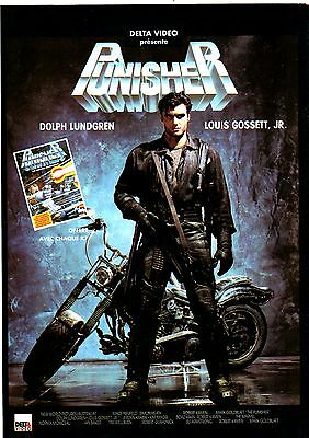 Coupure de presse Cinéma clipping n°149 Affiche PUNISHER Dolph LUNDGREN