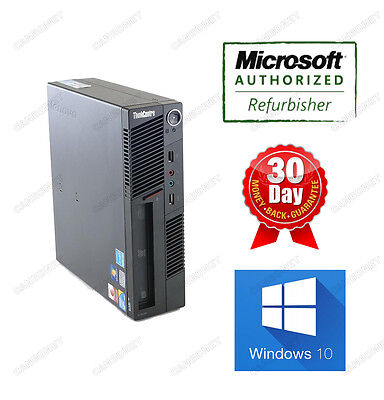 Lenovo Thinkcentre USFF M90P 3853 i5 3.2Ghz 4G 250G DVDRW Win10Home Desktop WTY