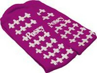 Posey Fall Management Non Skid-Socks Large Purple  #6239Lp