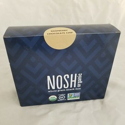 Nosh Organic Snack Mix, Raspberry&Chocolate Chip, 12ct 858070005124S1205